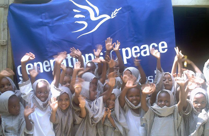 Generations For Peace is a peace-building organisation Dedicated to sustainable conflict transformation