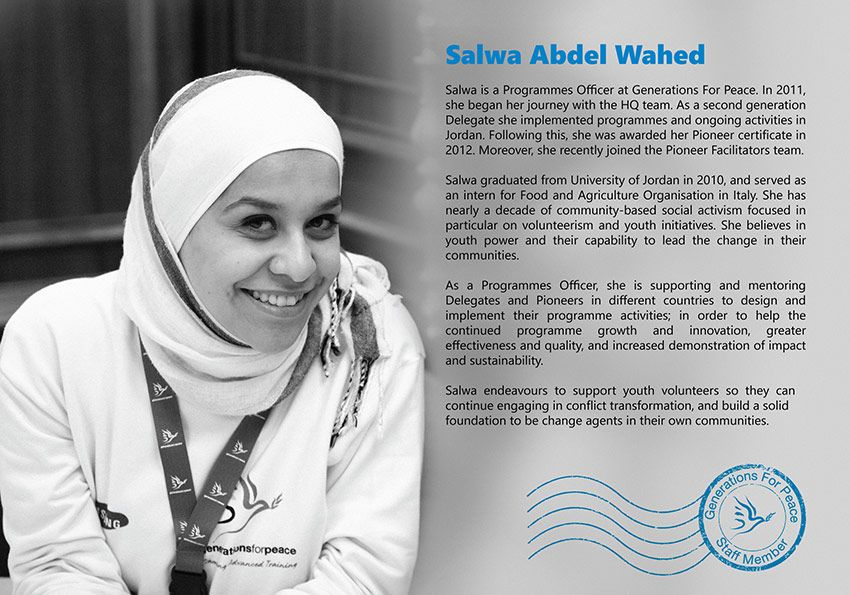 GFP-Bio-Salwa-Abdel-Wahed - Generations For Peace