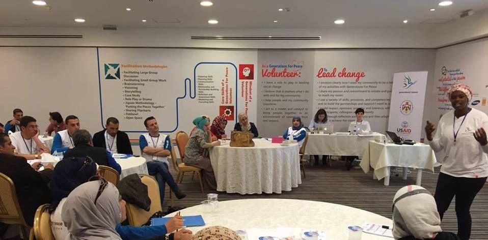 دعم من الوكالة الأمريكية للتنمية الدولية لهيئة أجيال السلام لتوسيع نطاق مبادرة محاربة العنف في المدارس في المجتمعات الأردنية الـمُستضيفة للاجئين