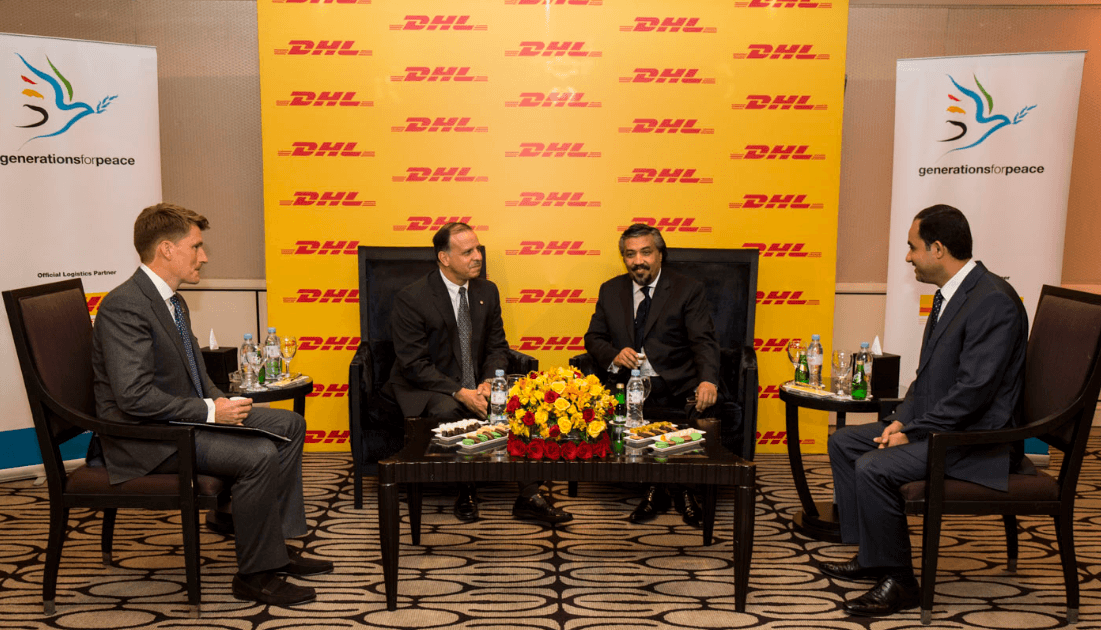 DHL Express delivers boost to Generations For Peace in Jordan