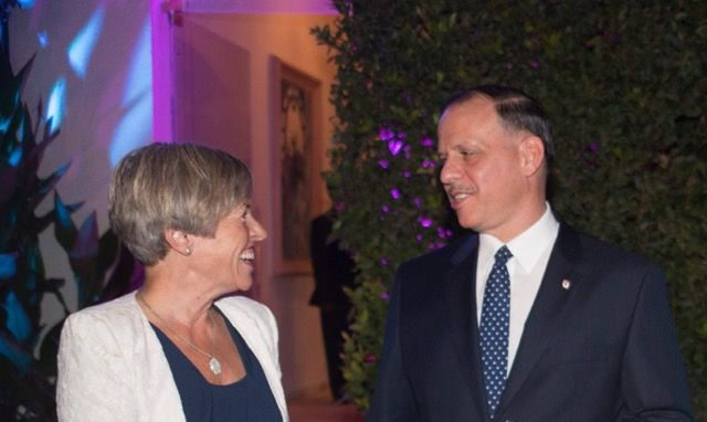 HRH Prince Feisal Al Hussein and Ambassador of Norway host International Day of Peace event