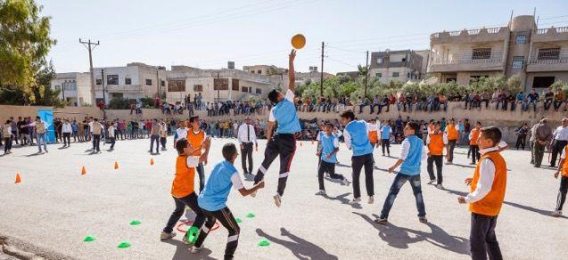 سموّ الأمير فيصل: يمكن لقوة الرياضة أن تُخفّف من معاناة اللاجئين