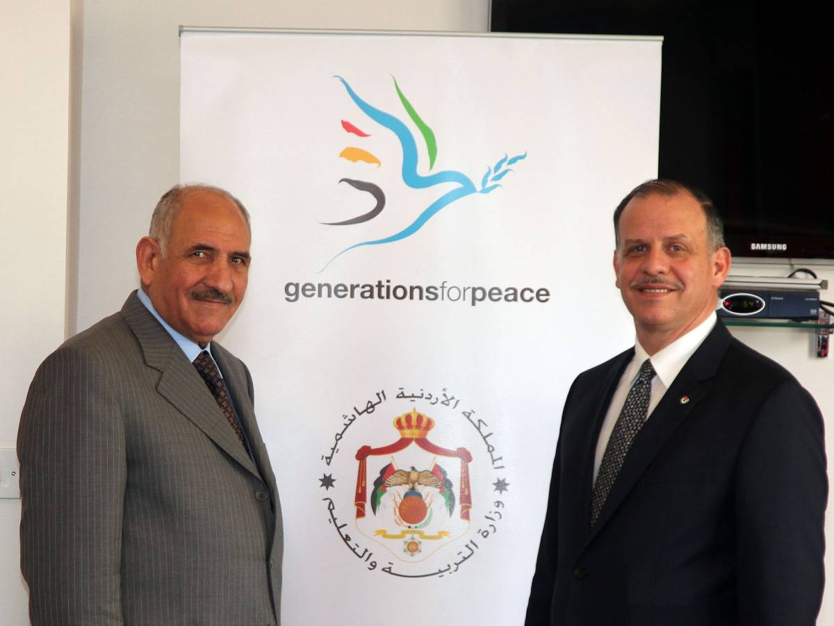 Generations For Peace and Ministry of Education to Expand the Generations For Peace Programme in Schools
