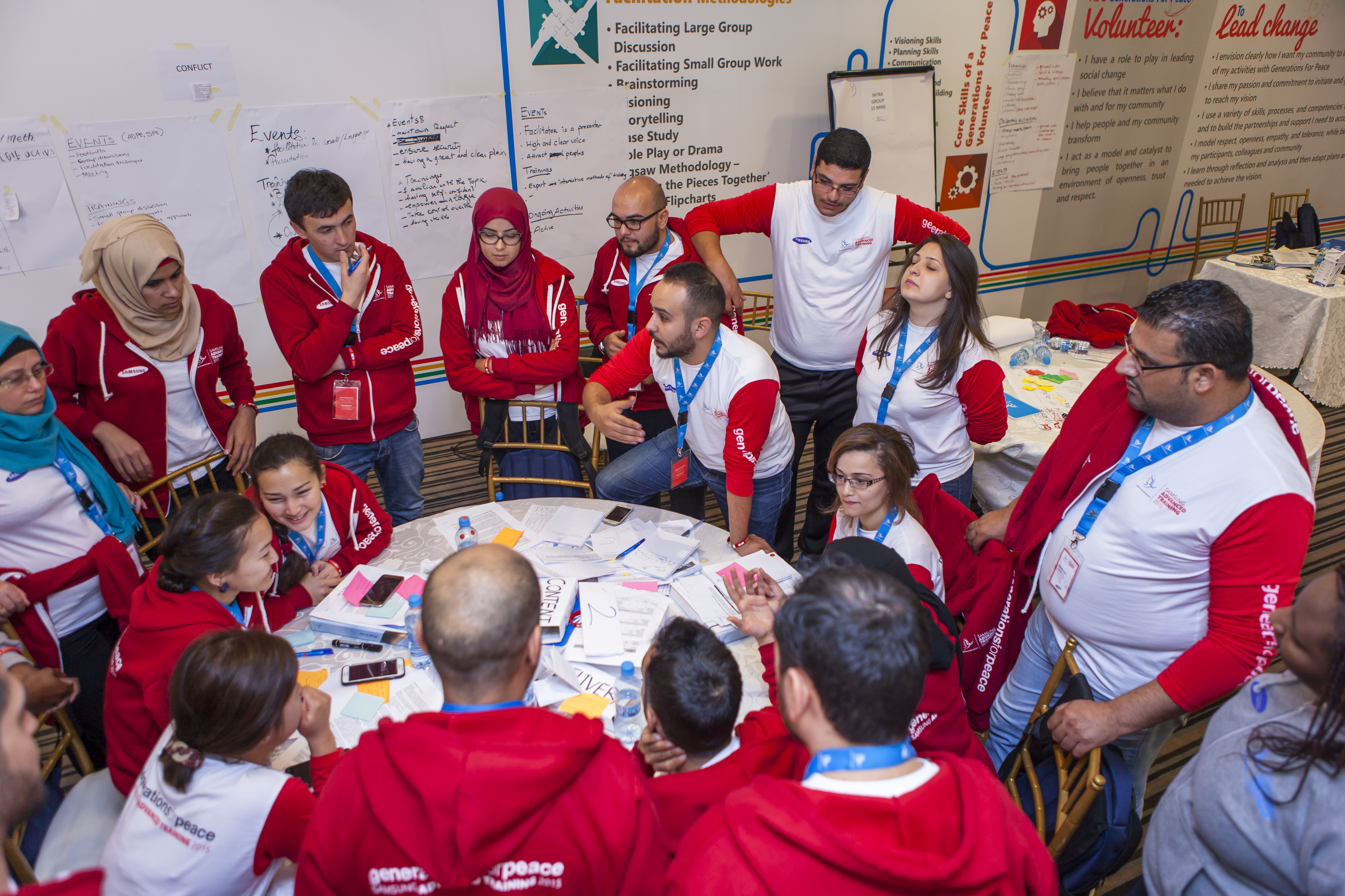 Advanced Training 2015 - Volunteers
