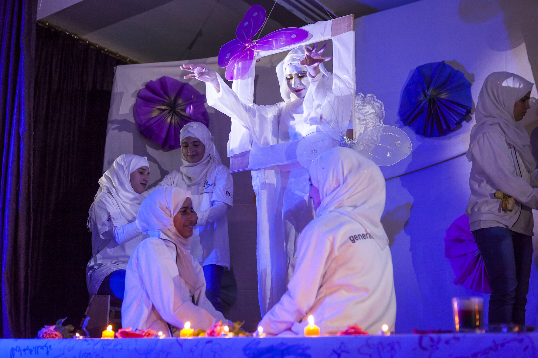 Art For Peace performance in Jordan.