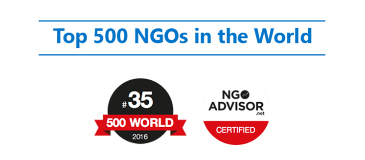 Generations For Peace ranked 35 in the World's 'Top 500 NGOs'