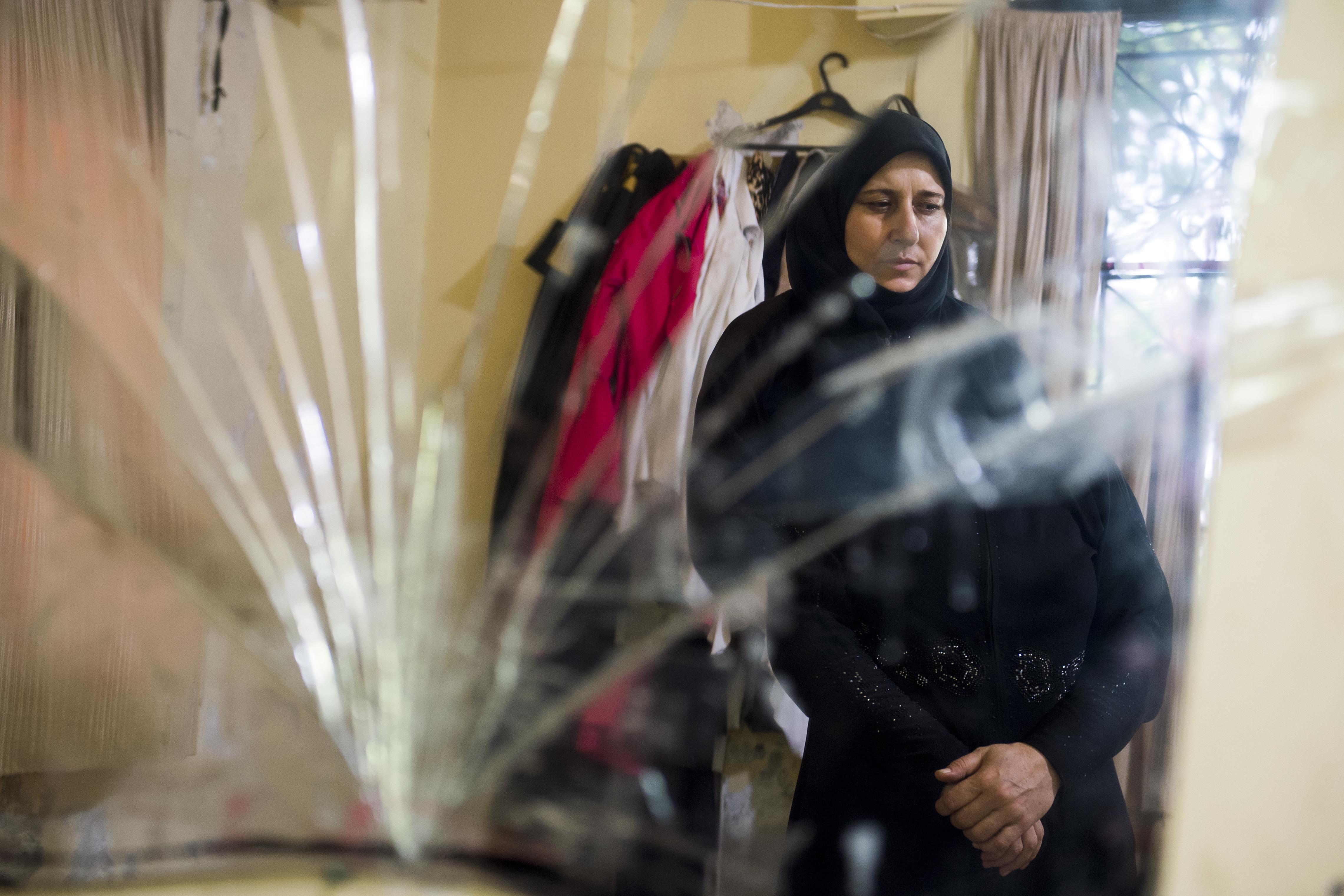 Khadija - collective shelter - Lebanon