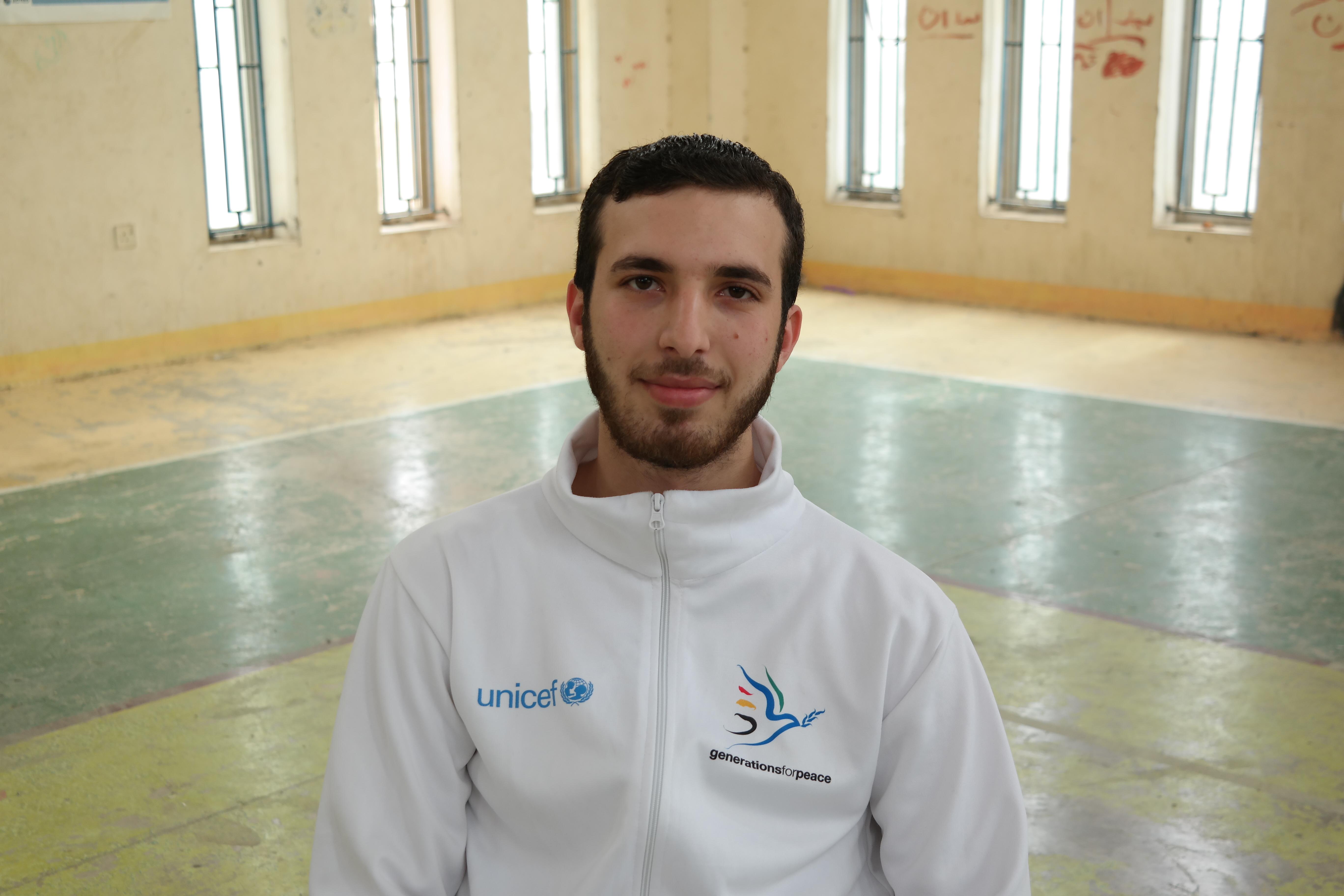 Hamza - GFP programme participant