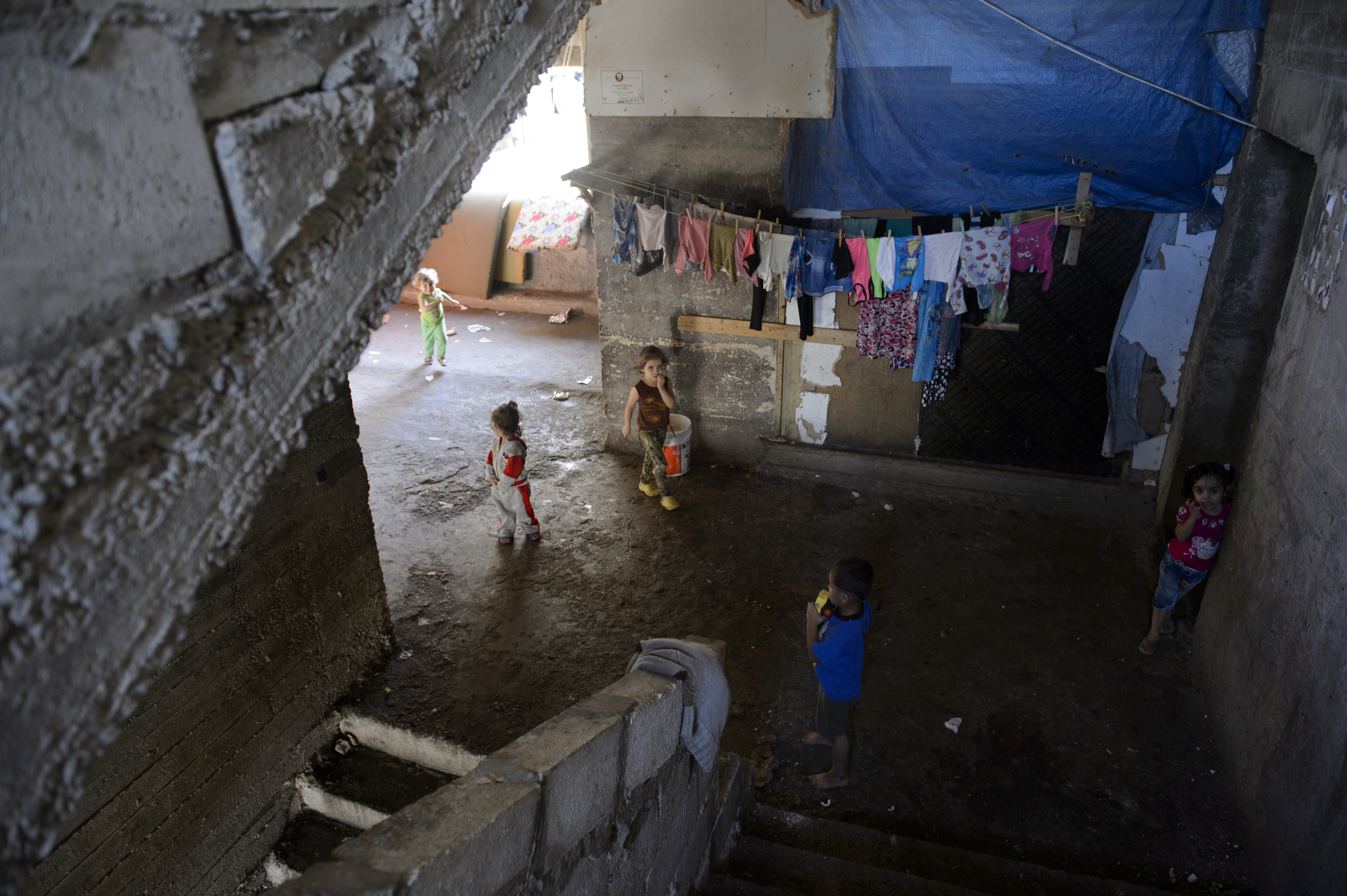 Collective shelter - Lebanon