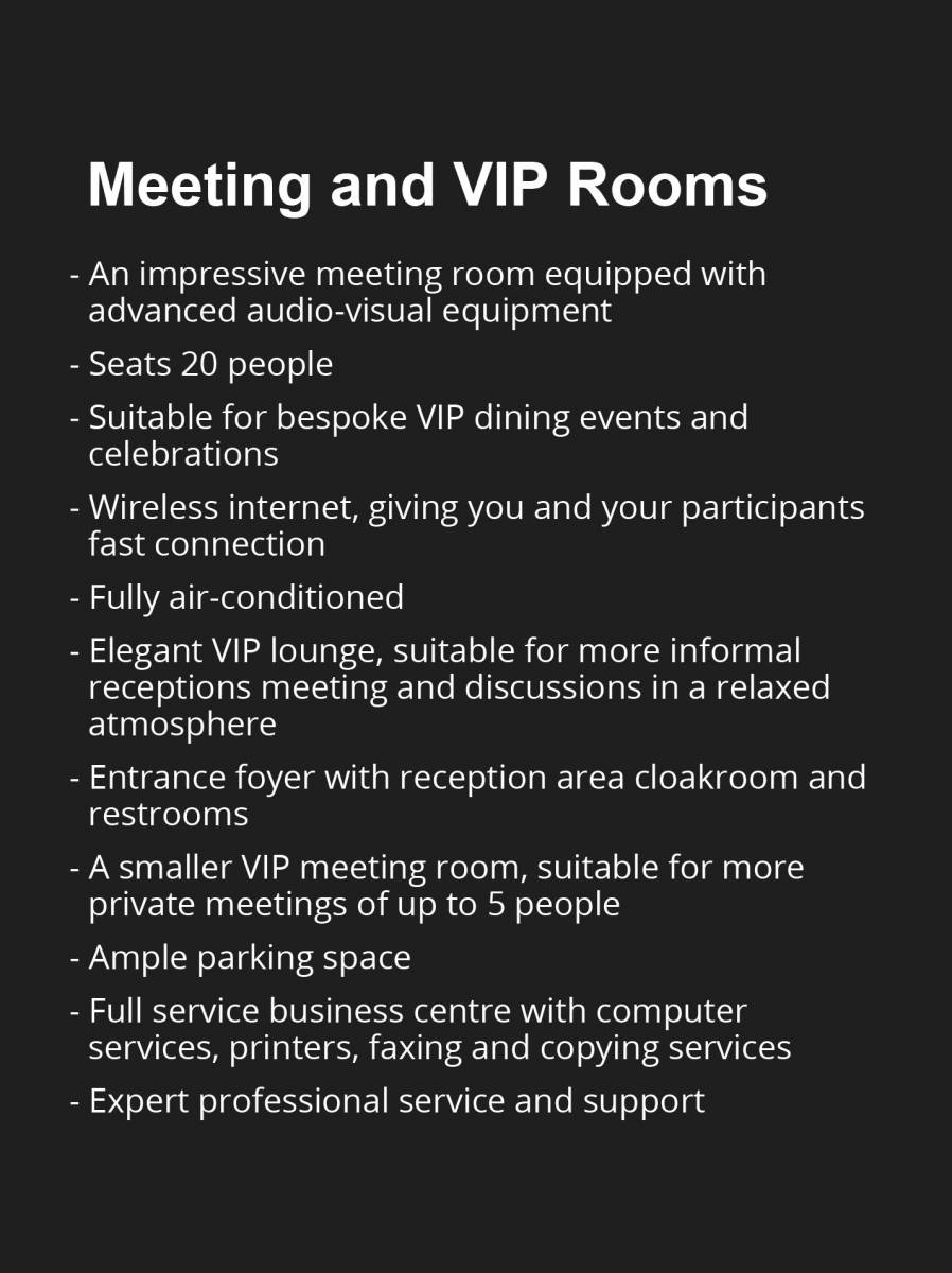 meeting-room-vip-generations-for-peace-jordan-amman-specifications