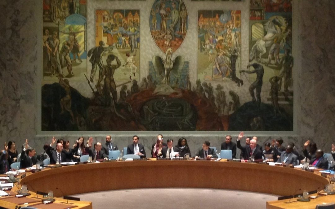 United Nations Security Council Resolution 2250 on Youth, Peace and Security: from Words to Action!