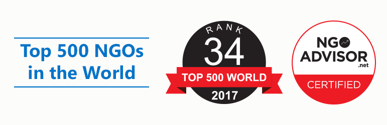 أجيال السلام تتقدم في التصنيف الى المركز رقم 34 على قائمة أفضل 500 منظمة غير حكومية في العالم