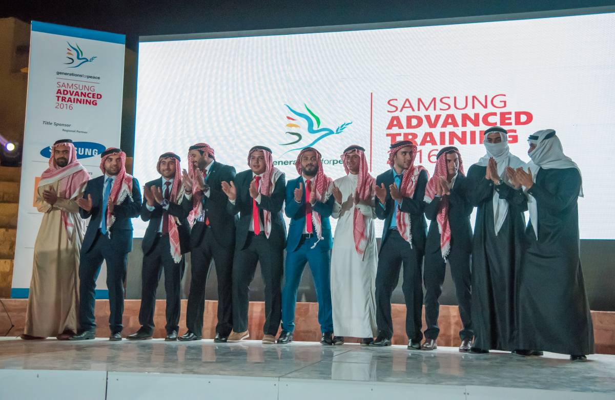 Samsung Electronics Levant and Generations For Peace launch tenth year of Peace Through Sport partnership