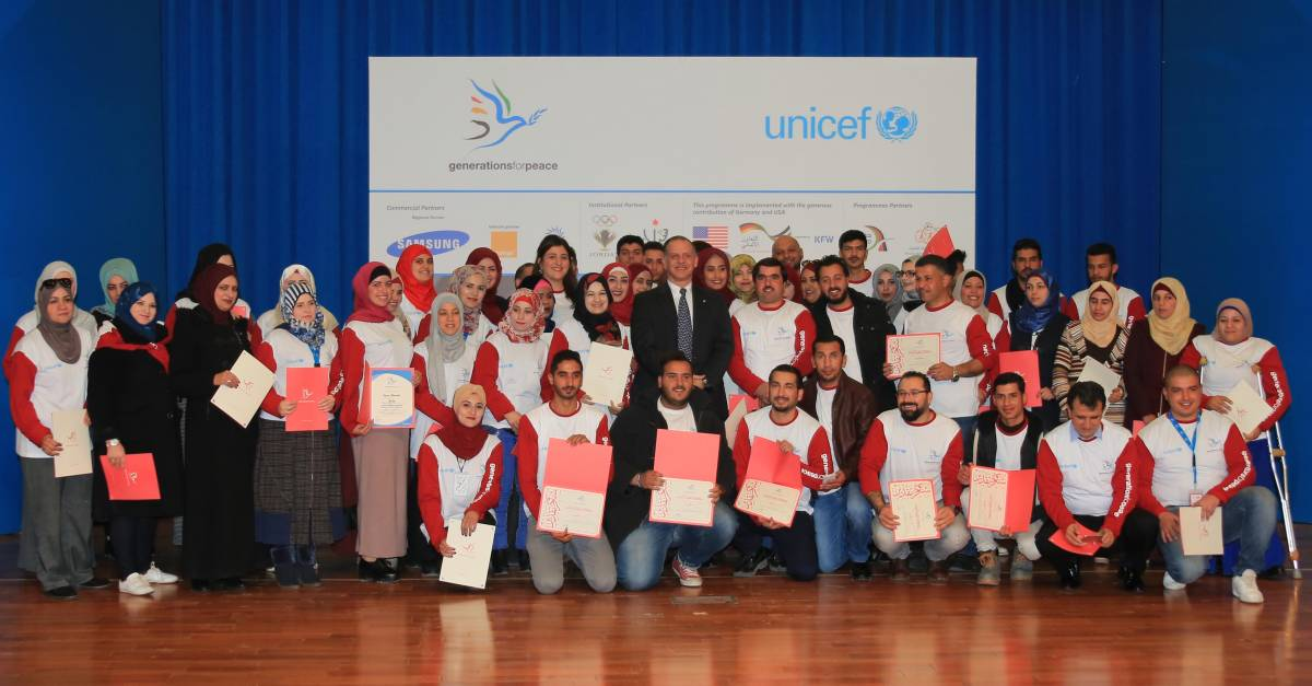 UNICEF and Generations For Peace expand successful Social Cohesion Programme to 40 communities across Jordan