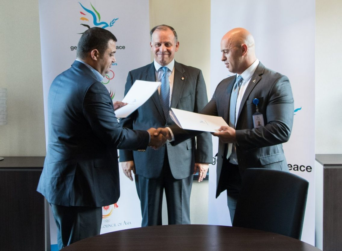 Minister of Youth signs agreement to expand Generations For Peace Social Cohesion Programme