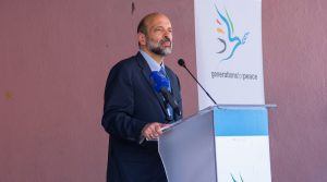 Minister of Education H.E. Dr. Omaz Razzaz Speaking