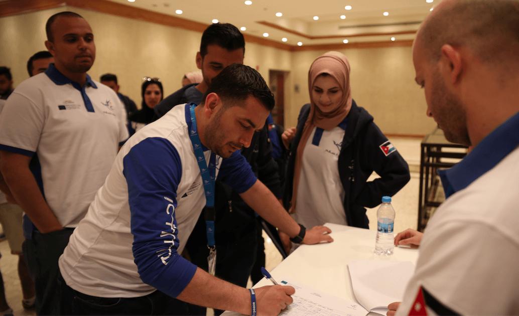 """تقرير العربية حول إطلاق برنامج """"عزم الشباب"""" في الأردن ولبنان والعراق"""