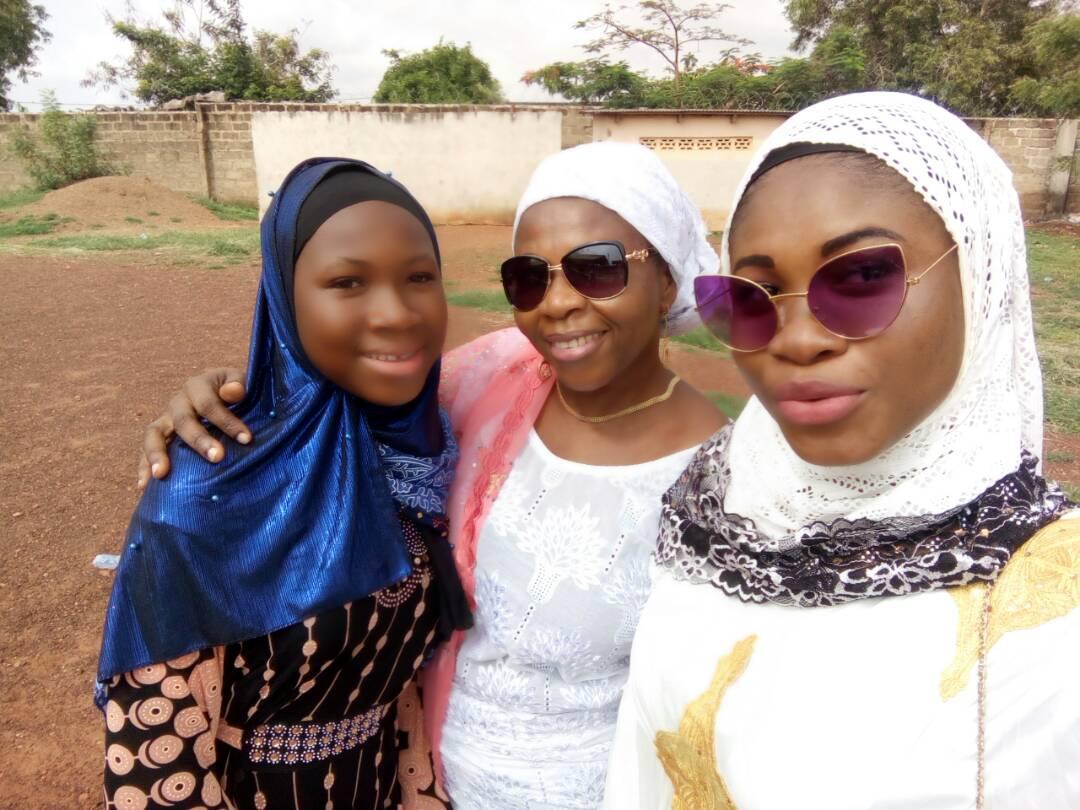 Fatima, Salma, and Salma Sister