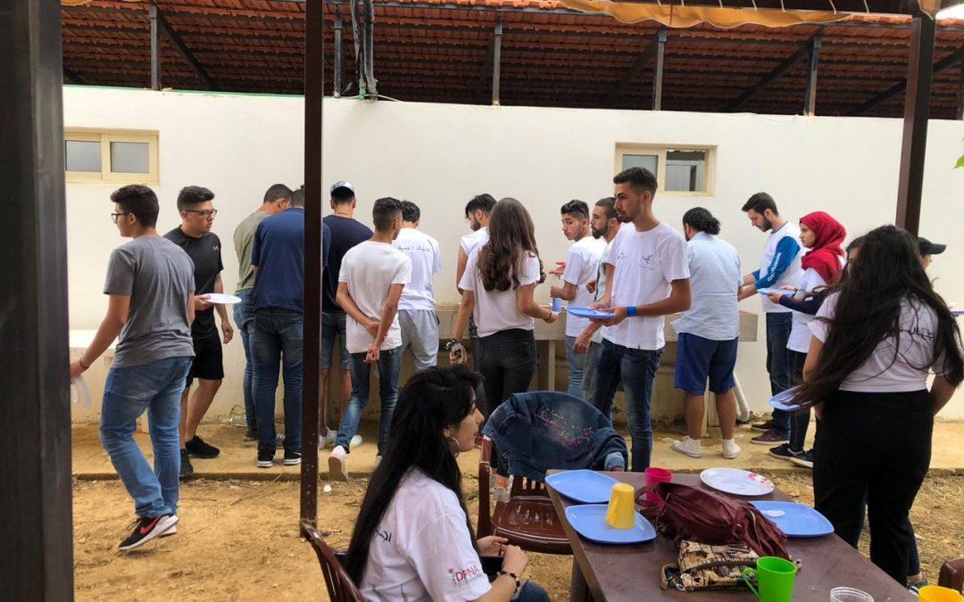 """هيئة أجيال السلام تختتم أنشطة مخيم """"عزم الشباب"""" المُقام لإطلاق برنامج """"مدد"""" في لبنان"""