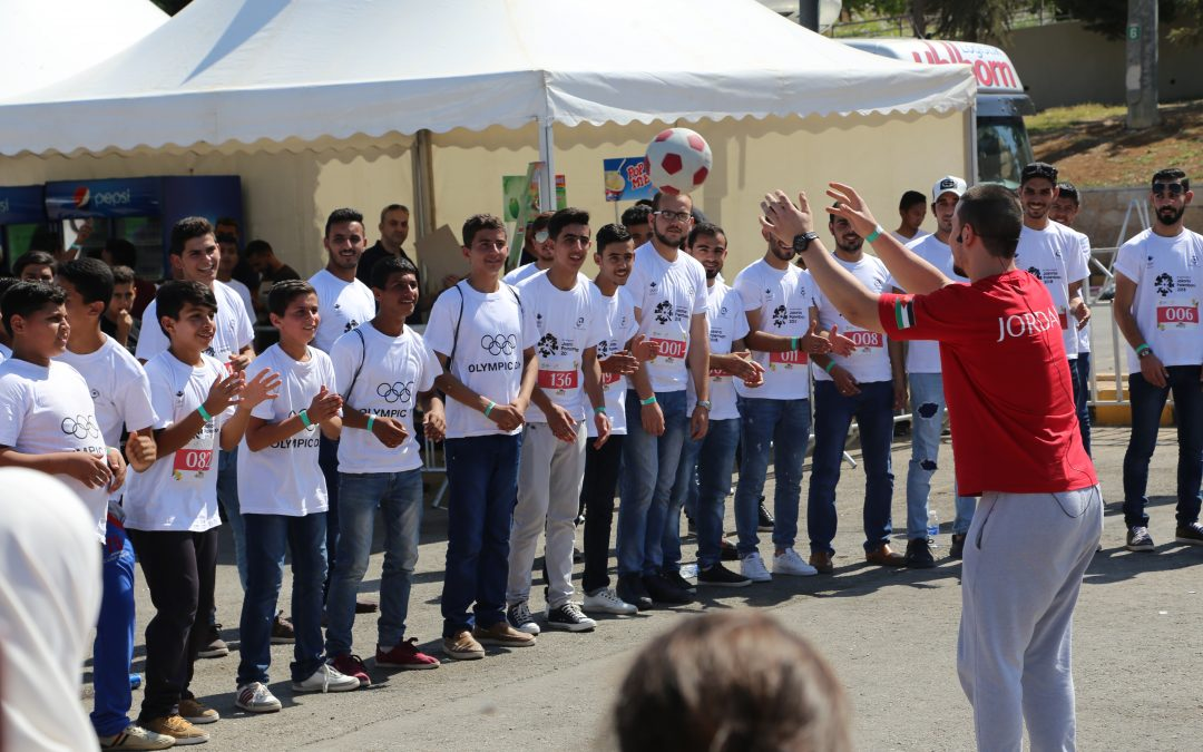 Generations For Peace Celebrates the Power of Sport at Amman Olympic Day Event