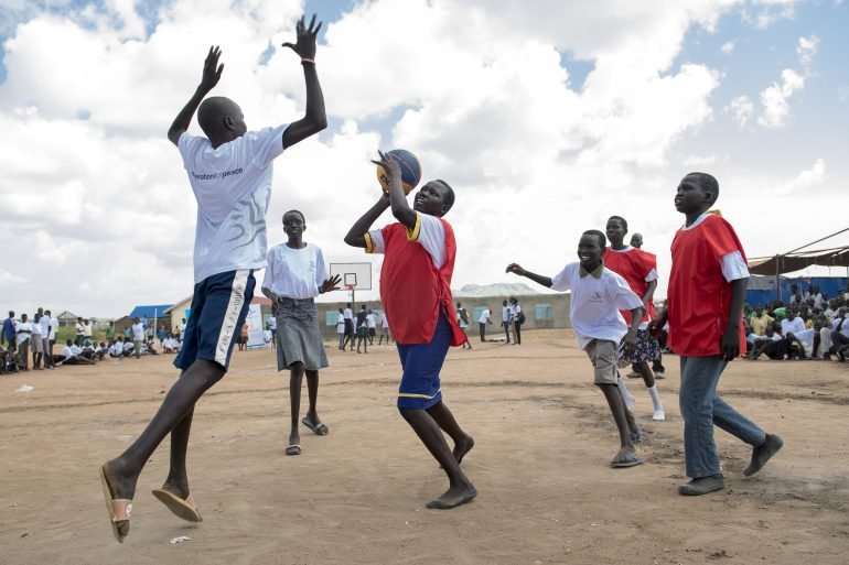 Generations For Peace Shortlisted for 2018 Beyond Sport Global Awards