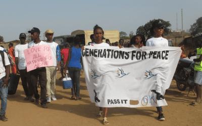 Trauma's Transformation to Peacebuilding