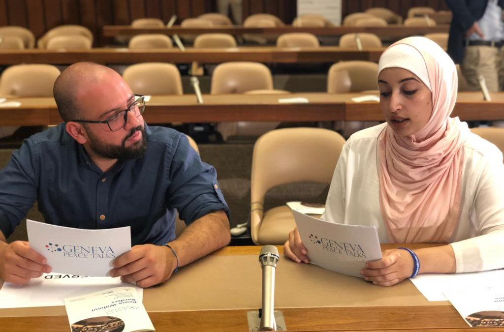 Generations for Peace Participates in 2018 Geneva Peace Talks
