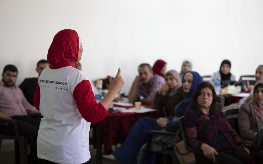 Jordan's Ministry of Education, UNICEF, and Generations For Peace Train 400 Teachers for Newly Expanded Nashatati Programme