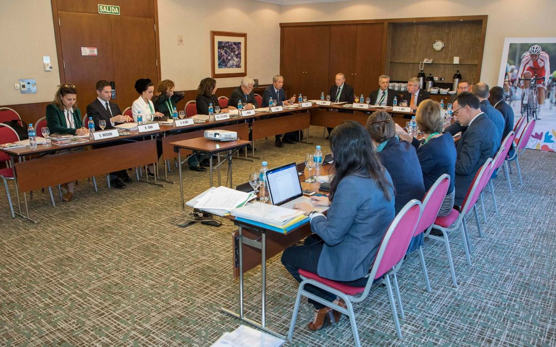 Projects for young people affected by the global refugee crisis discussed during olympic refuge foundation board meeting