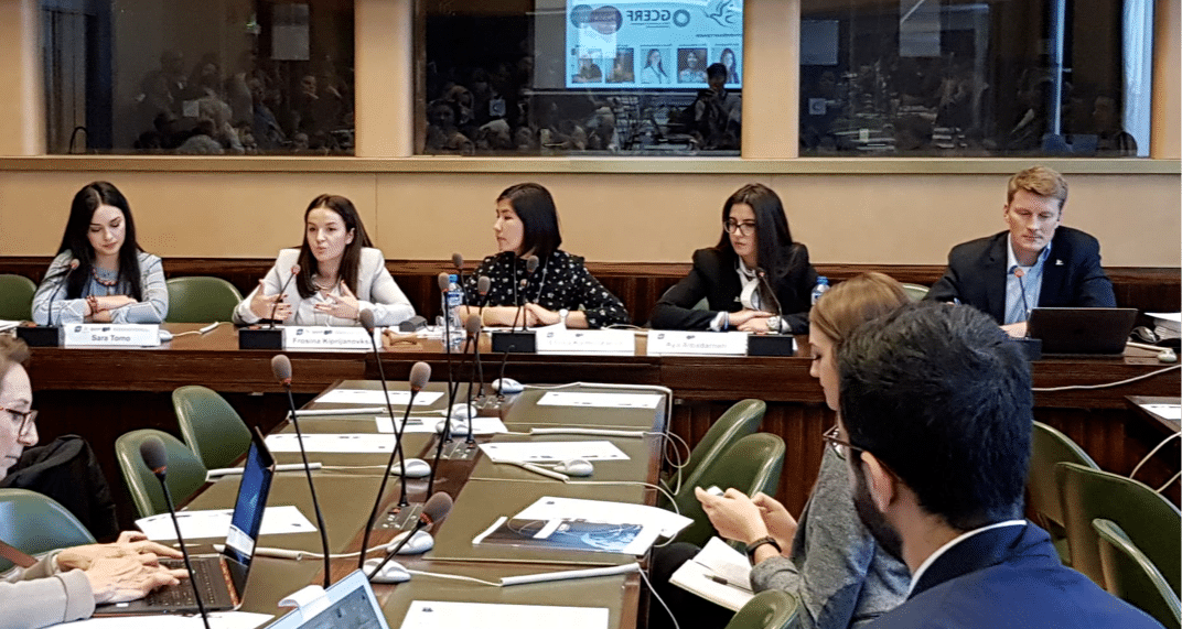 Generations For Peace Pioneers Share Peacebuilding Experience and Expertise at Geneva Peace Week