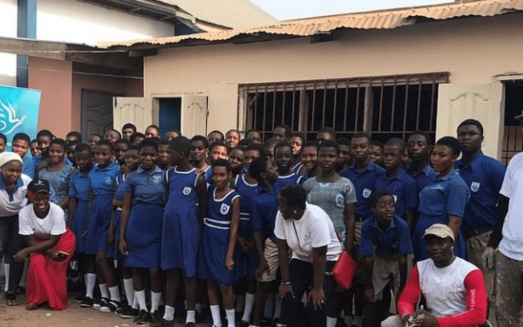 NGO Gives Facelift to Bethel Presby Primary School At Otano