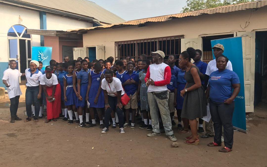GFP Ghana paint Otano Bethel Presby School