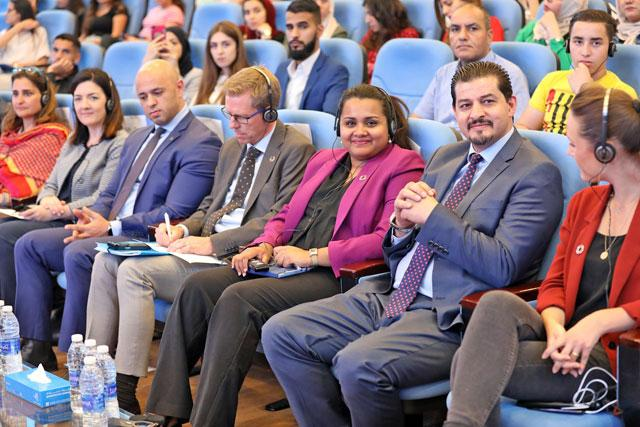 UN youth envoy joins young Jordanians for town hall
