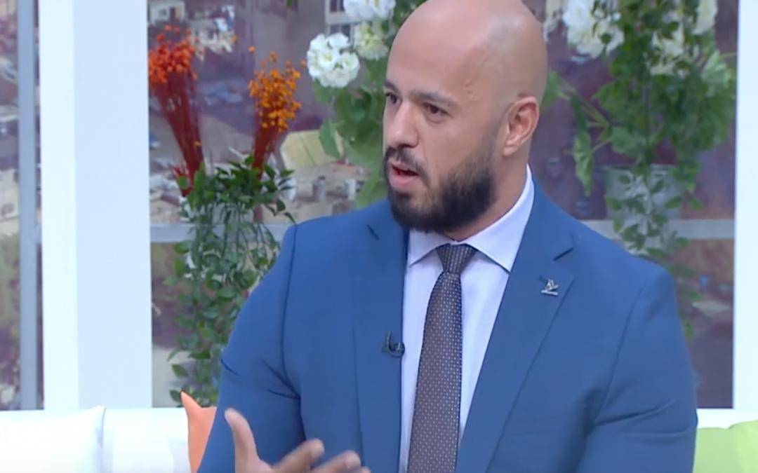 د. مهند عربيات في برنامج يوم جديد للحديث عن تحدي أجيال السلام