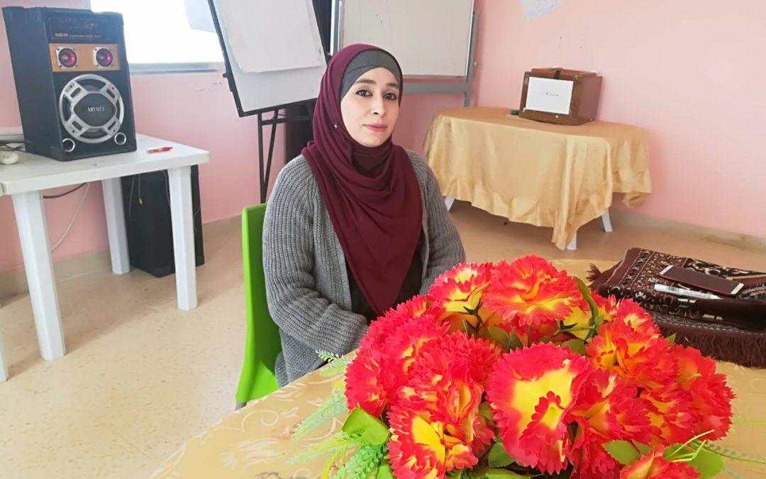 لينا المعابرة… حين تكون المرأة رائدة في بناء السلام