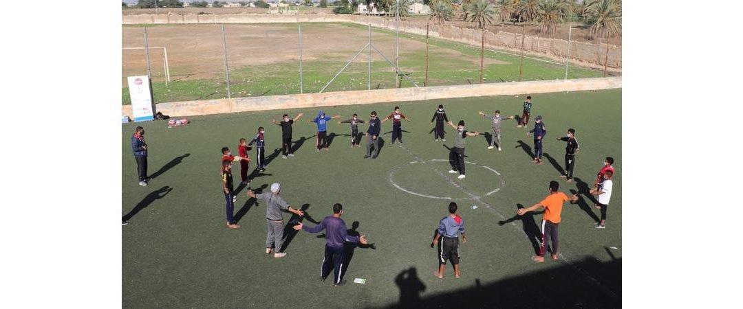 اختتام برنامج مهاراتي المجموعة الرابعة بتنفيذ نشاط رياضة من أجل السلام