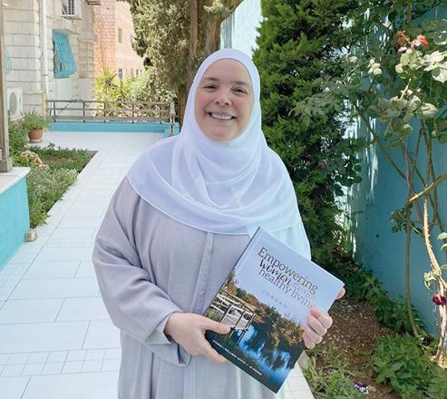 Women success showcased in book titled 'Empowering Women through Healthy Living — Jordan'