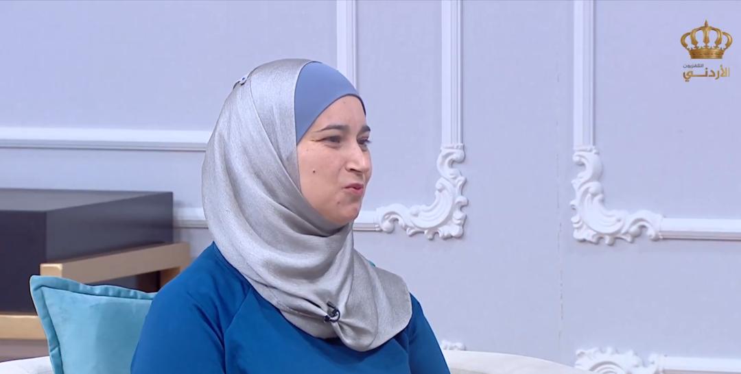 مقابلة المعلمة الماسة المومني عبر برنامج العمل الشبابي للمرأة والأمن والسلام
