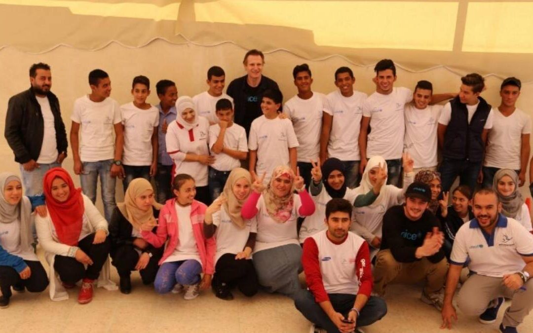 Olympic Refuge Foundation and Generations For Peace announce new partnership in Jordan