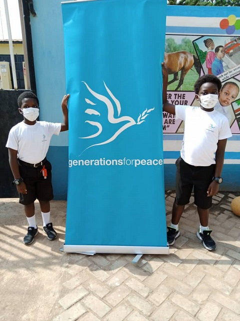 Generations For Peace Ghana Commence Sport and Arts for Peacebuilding